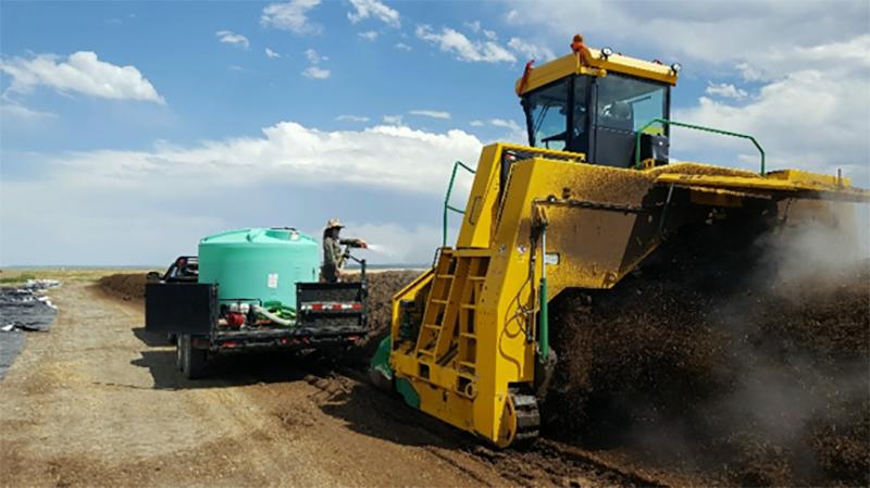 Compost, Compost, Compost…the 4,000 ton challenge