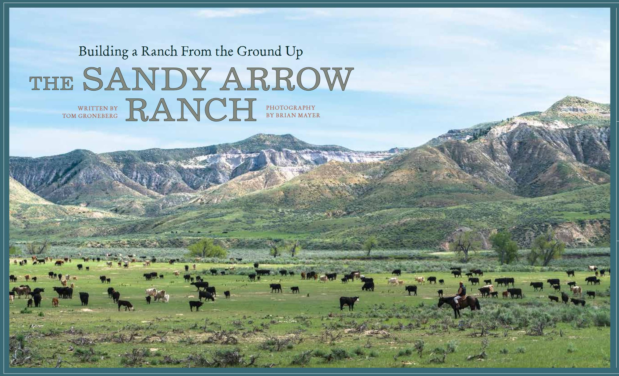 SA Ranch Profile in Big Sky Journal