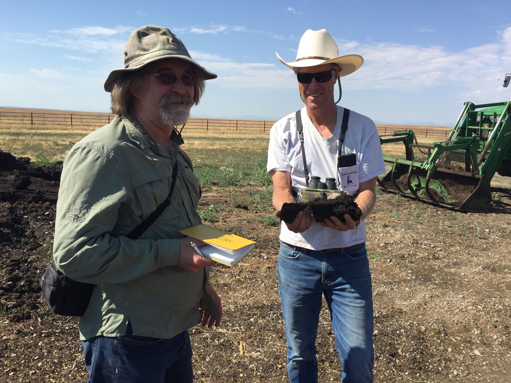 Visionary Thought Leaders Visit the SA Ranch